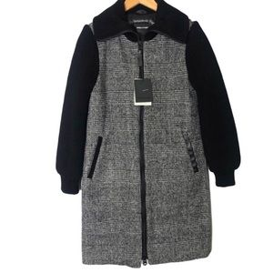 Mackage Wool Down 800 Fill Herringbone Coat